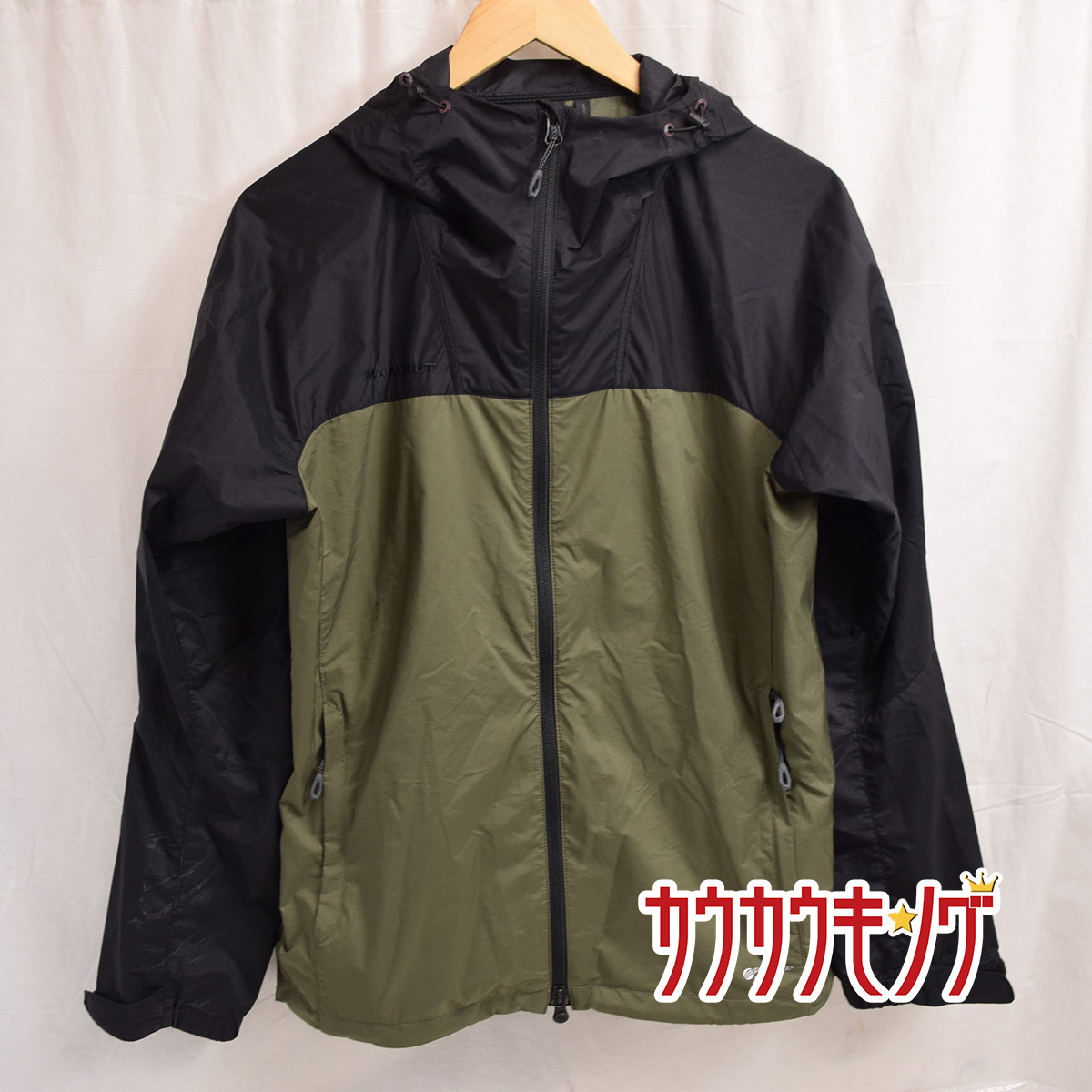 中古 評判 MAMMUT マムート メンズ GLIDER サイズM グライダー マウンテンパーカー 限定価格セール ジャケット