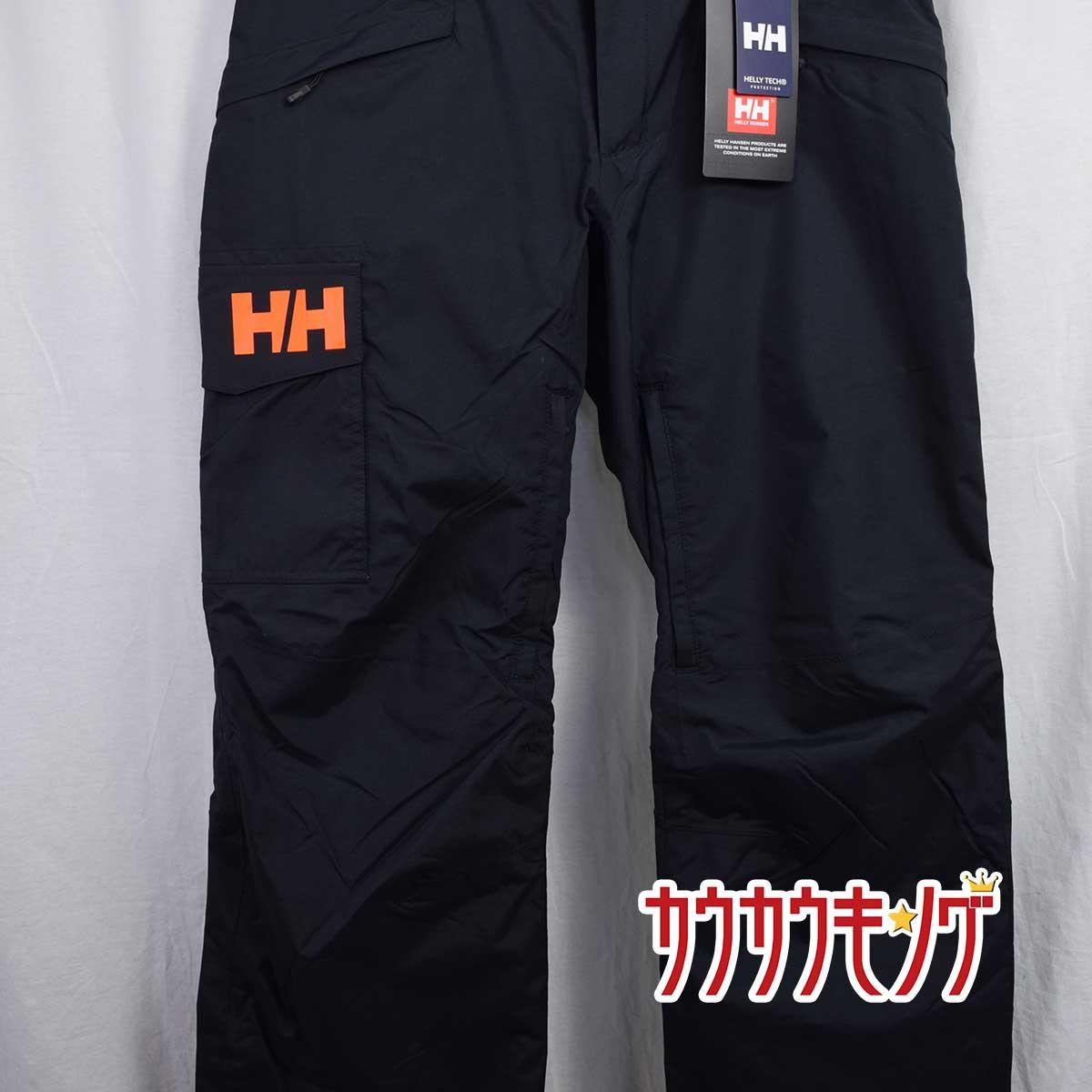 【中古】【未使用】ヘリーハンセン/HELLY HANSEN ソンカーゴパンツ HS21671 サイズM ブラック スキー/スノボ ウェア ゴールドウイン