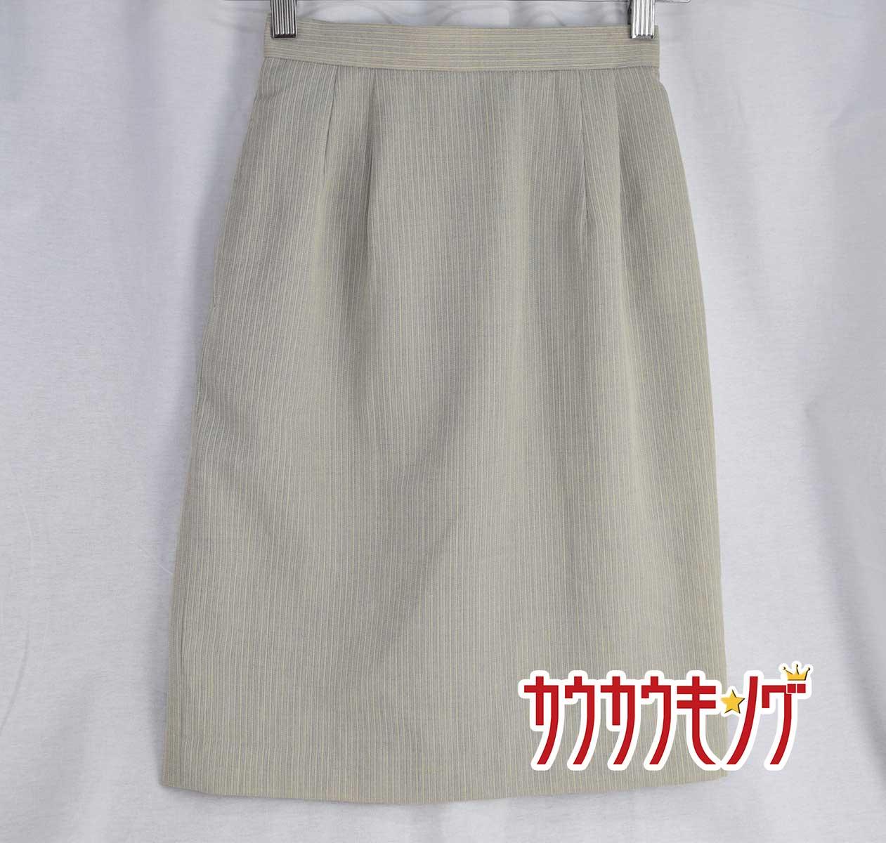 中古 未使用 ハイナック スカート 5号サイズ 豊富な品 お気にいる 事務服 レディースユニフォーム 575BS オフィスウェア 営業スーツ