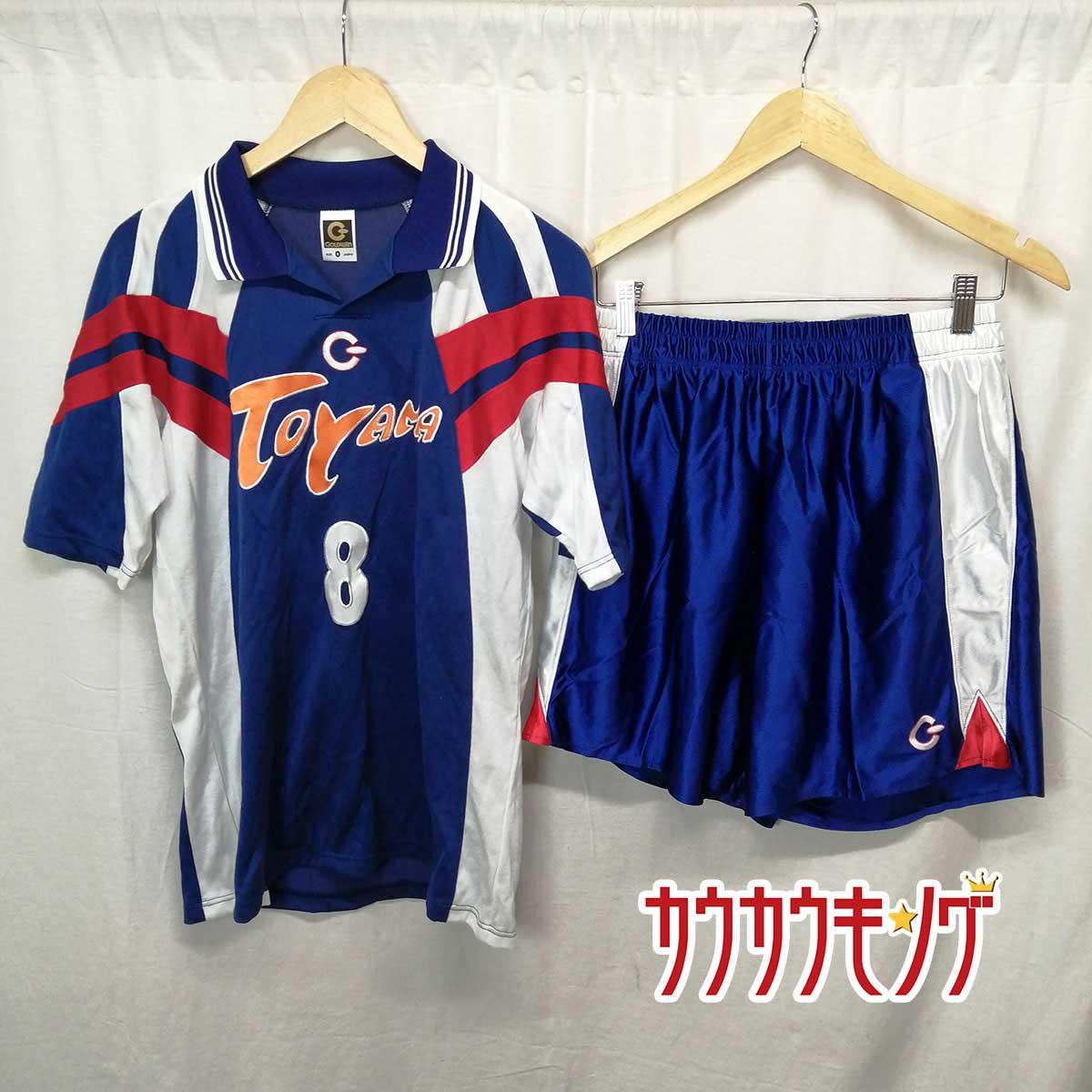 【中古】GOLDWIN製 バレーボール 富山 代表 ユニフォーム /パンツ 上下 #8 サイズO/XO 実用品 支給品
