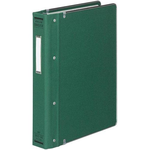 コクヨ バインダーMP B5縦200枚収容 総布貼 緑4冊