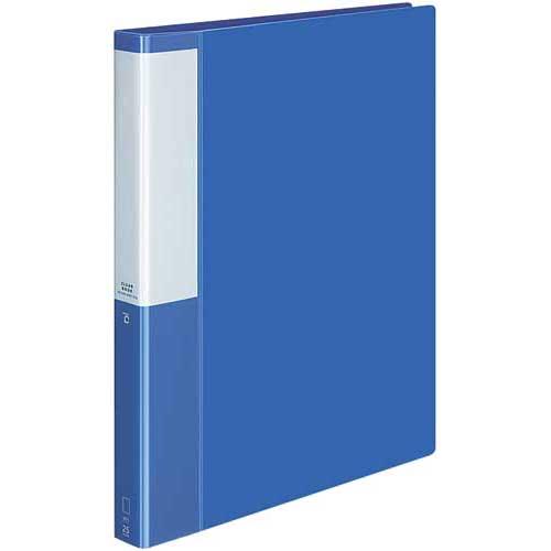 コクヨ クリヤーBポジティ替紙式青A4縦背幅33mm10冊