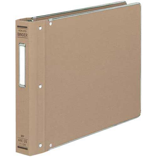 コクヨ バインダーMP A4横200枚収容 総布貼 4冊