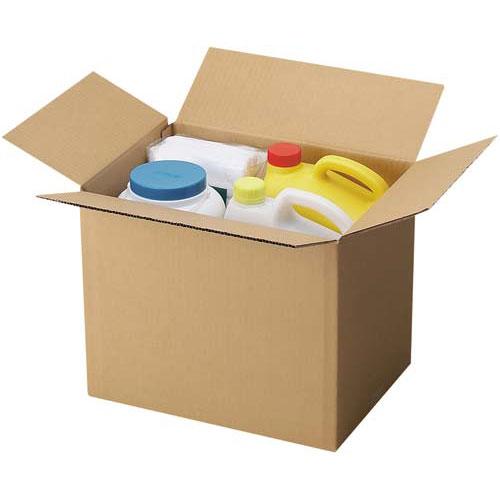 カウネット 無地ダンボール No.2-3(底面B4) 90枚 | 段ボール 梱包 梱包資材 梱包材 箱 収納 引っ越し用 引越し 作業用品 生活雑貨 まとめ買い カウモール B4 B4サイズ