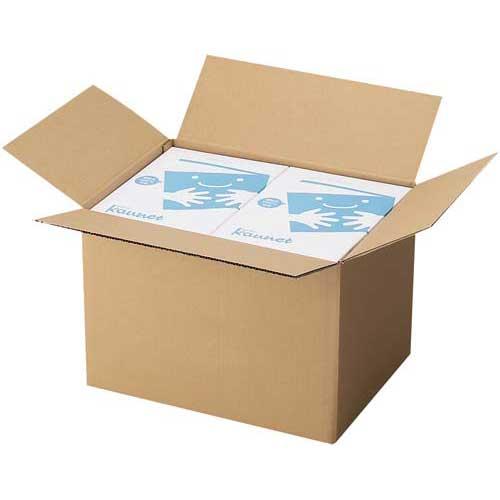 カウネット 無地ダンボール No.3-3(底面A3) 90枚 | 段ボール 梱包 梱包資材 梱包材 箱 収納 引っ越し用 引越し 作業用品 生活雑貨 まとめ買い カウモール A3 A3サイズ