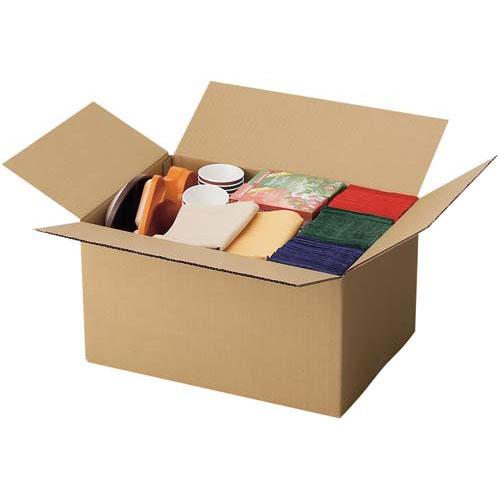 カウネット 無地ダンボール No.4-1(底面LL) 90枚 | 段ボール 梱包 梱包資材 梱包材 箱 収納 引っ越し用 引越し 作業用品 生活雑貨 まとめ買い カウモール LL LLサイズ