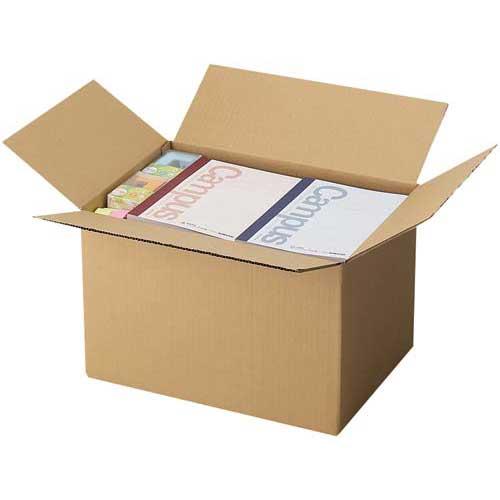 カウネット 無地ダンボール No.4-2(底面LL) 90枚 | 段ボール 梱包 梱包資材 梱包材 箱 収納 引っ越し用 引越し 作業用品 生活雑貨 まとめ買い カウモール LL LLサイズ