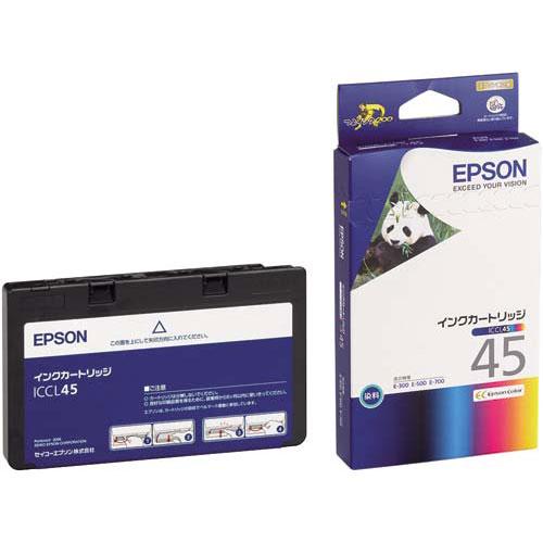 エプソン 純正インク ICCL45(4色一体型) 4個