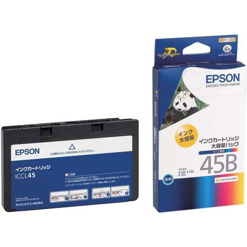エプソン 純正インクICCL45B(4色一体型・大容量)4個