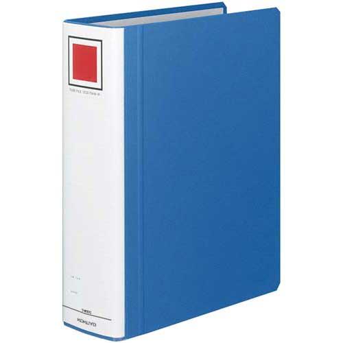 商品合計金額3000円 税込 以上送料無料 パイプ式ファイル チューブファイル A4サイズ 青 チューブFエコツインR青A4縦背幅85mm 縦 誕生日プレゼント コクヨ 正規品送料無料 ブルー