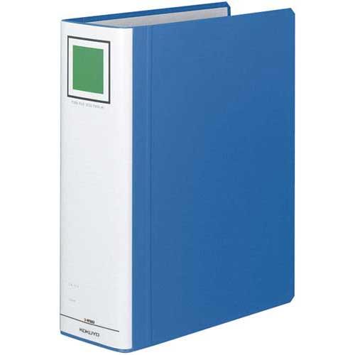 商品合計金額3000円 税込 予約販売 おトク 以上送料無料 パイプ式ファイル チューブファイル A4サイズ チューブFエコツインR青A4縦背幅95mm 縦 ブルー 青 コクヨ