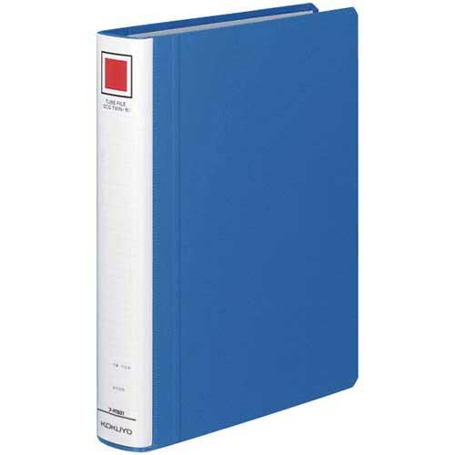 永遠の定番 商品合計金額3000円 税込 以上送料無料 パイプ式ファイル 贈答品 チューブファイル B5サイズ 青 コクヨ 縦 ブルー チューブFエコツインR青B5縦背幅45mm