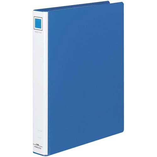 コクヨ リングファイル貼り表紙青A4縦背幅45mm20冊