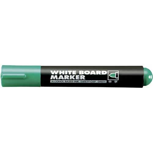 コクヨ 再生樹脂ホワイトボード用マーカー 中字 緑10本