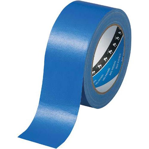 寺岡製作所 カラー布テープ No.1535 青 30巻関連ワード【ガムテープ 梱包テープ 梱包用】