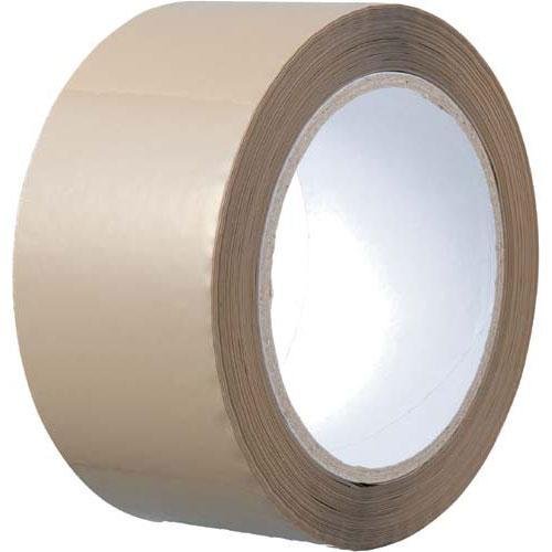 カウネット 透明PPテープ 重梱包用 茶 120巻   梱包 梱包資材 テープ 引っ越し 引越し 梱包テープ 粘着テープ PPテープ 作業用品 生活雑貨 まとめ買い カウモール