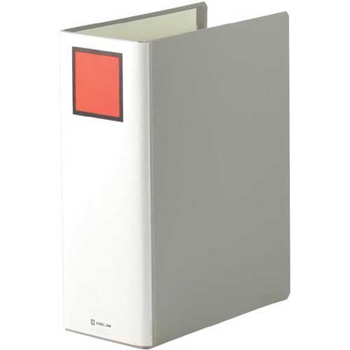 キングジム キングファイルSD灰A4縦背幅116mm10冊