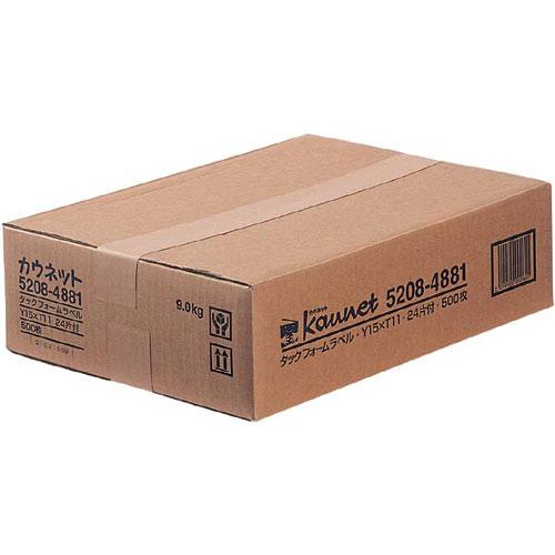 カウネット タックフォーム 15×11 4×6片 500枚