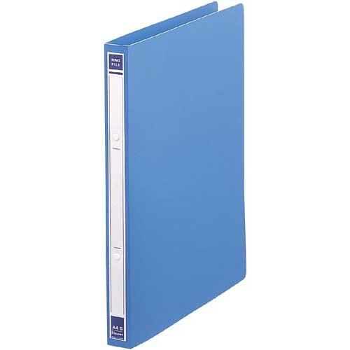 カウネット リングファイルPP 青A4タテ 背幅27mm60冊