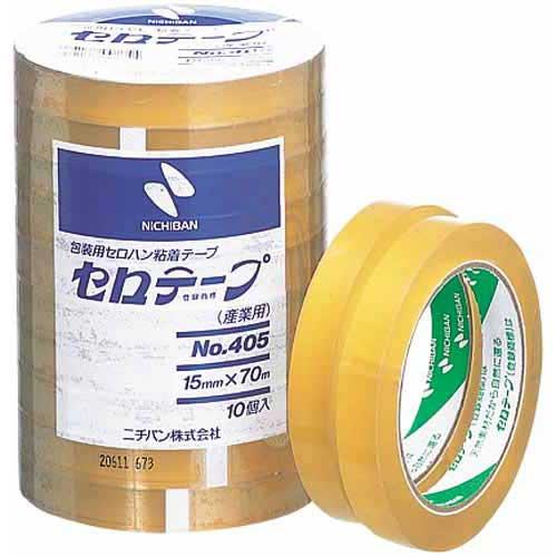 ニチバン セロテープ業務用 幅15mm×長さ70m 100巻
