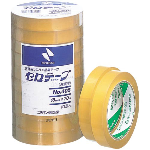 ニチバン セロテープ業務用 幅18mm×長さ70m 100巻