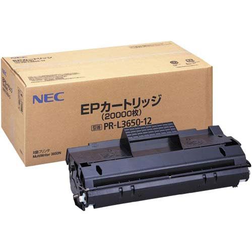 NEC 純正トナー PR-L3650-12 ブラック