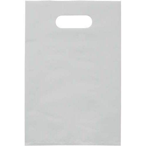 カウネット 高密度PE手提袋(SS)白 25枚入 | 手提げバッグ 手提げ 手提げ袋 手提げ紙袋 手提げバック ビニール袋 手提袋 ビニール ビニールバッグ ビニールバック カウモール