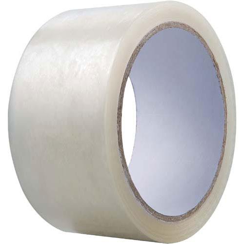 カウネット 透明PPテープ 軽梱包用 144巻 | 梱包 梱包資材 テープ 引っ越し 引越し 梱包テープ 粘着テープ PPテープ 作業用品 生活雑貨 まとめ買い カウモール