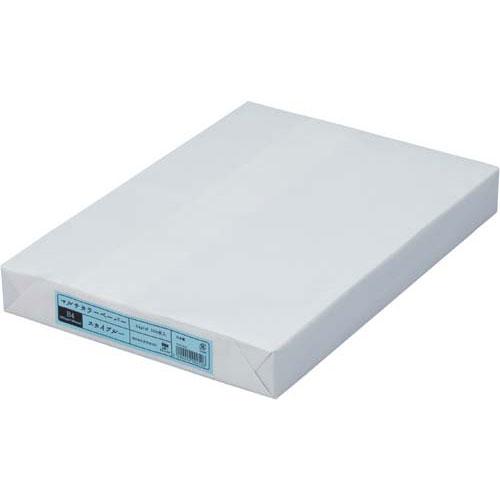 カウネット マルチカラーペーパー B4 スカイブルー 2箱関連ワード【コピー用紙 印刷用紙 プリンター用紙】