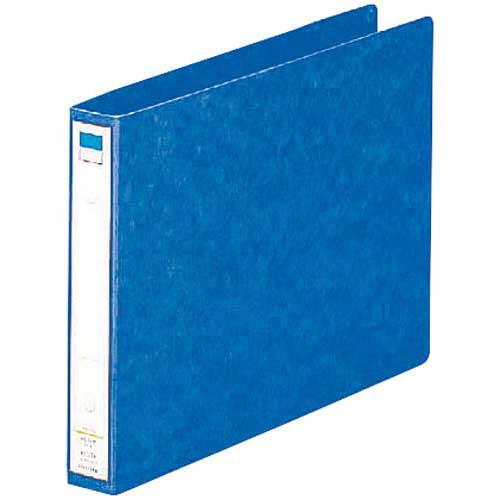 リヒトラブ リングファイル藍A4横背幅35mm30冊