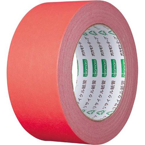 オカモト カラークラフトテープ 224WC 赤 50巻関連ワード【ガムテープ 梱包テープ 梱包用】