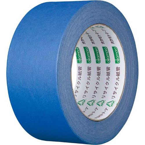オカモト カラークラフトテープ 224WC 青 50巻関連ワード【ガムテープ 梱包テープ 梱包用】