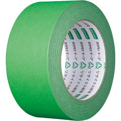 オカモト カラークラフトテープ 224WC 緑 50巻関連ワード【ガムテープ 梱包テープ 梱包用】