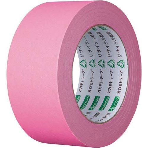 オカモト カラークラフトテープ 224WC ピンク 50巻関連ワード【ガムテープ 梱包テープ 梱包用】
