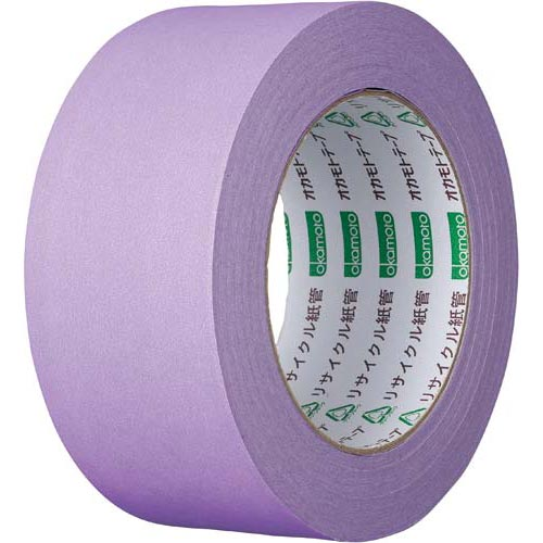 オカモト カラークラフトテープ 224WC 紫 50巻関連ワード【ガムテープ 梱包テープ 梱包用】