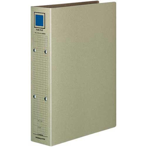コクヨ チューブファイル(保存用)A4縦背幅67mm80冊