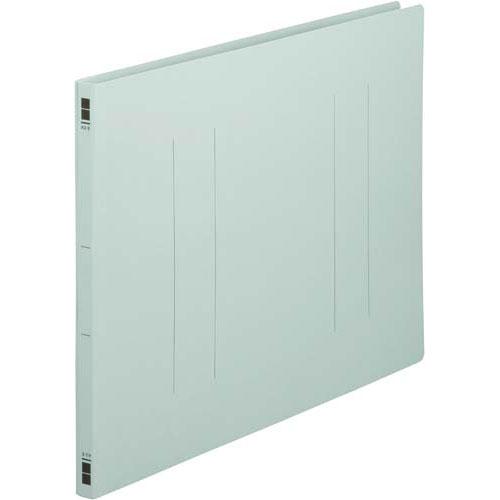 カウネット フラットファイル樹脂とじ具 A3横 青 100冊