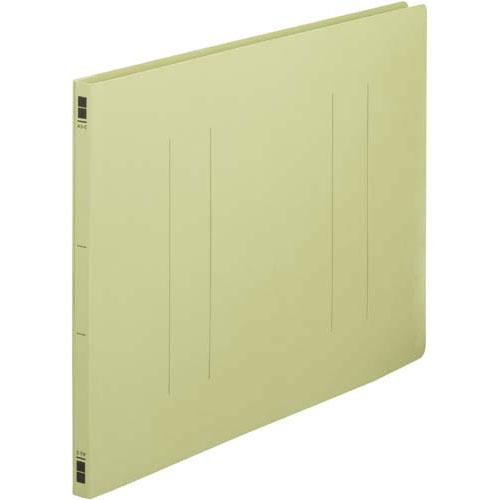 カウネット フラットファイル樹脂とじ具 A3横 緑 100冊