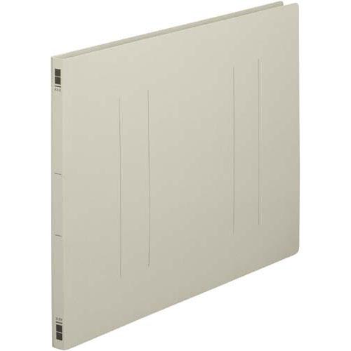 カウネット フラットファイル樹脂とじ具 A3横 灰 100冊