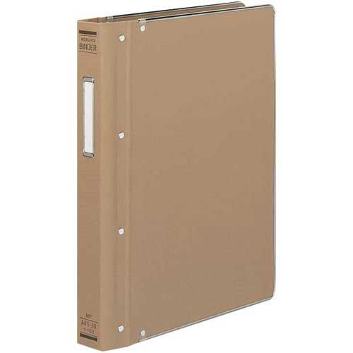 コクヨ バインダーMP A4縦200枚収容 総布貼 4冊