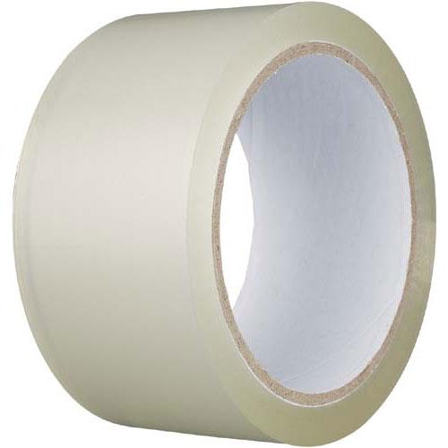 カウネット PPテープ 中梱包用 透明 150巻 | 梱包 梱包資材 テープ 引っ越し 引越し 梱包テープ 粘着テープ PPテープ 作業用品 生活雑貨 まとめ買い カウモール