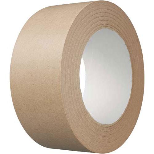 カウネット クラフトテープ 150巻 | 梱包 梱包資材 テープ 引っ越し 引越し 梱包テープ 粘着テープ 作業用品 生活雑貨 まとめ買い カウモール