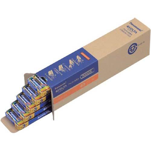 パナソニック 乾電池 アルカリ エボルタ 単3 200本入