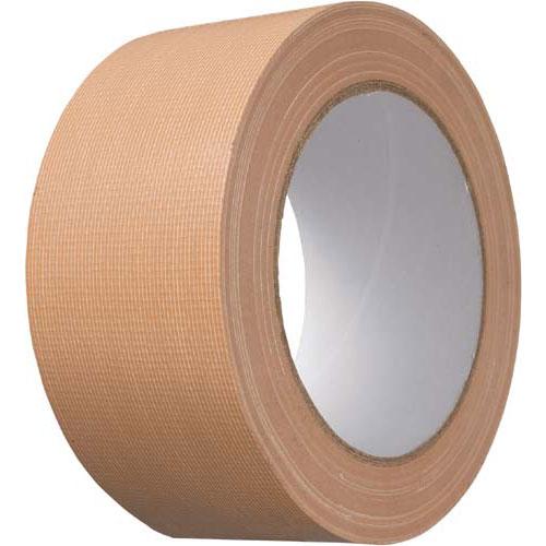 カウネット 布テープ 軽梱包用 90巻 | 梱包 梱包資材 テープ 引っ越し 引越し ガムテープ 布 梱包テープ 粘着テープ 作業用品 生活雑貨 まとめ買い カウモール