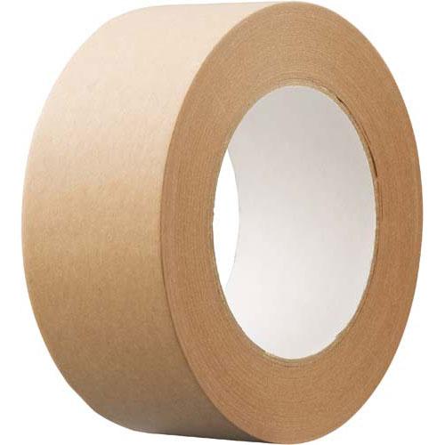 「カウコレ」プレミアム クラフトテープ 重ね貼り可 茶 50巻 | 梱包 梱包資材 テープ 引っ越し 引越し 梱包テープ 粘着テープ 作業用品 生活雑貨 まとめ買い カウモール