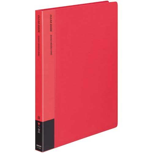 コクヨ クリヤーブック替紙式赤A4縦背幅27mm10冊