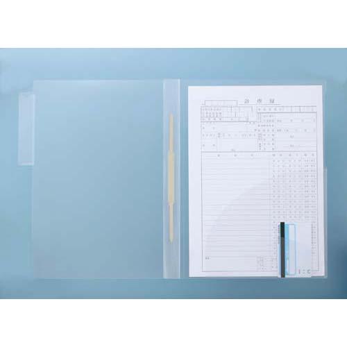 ハピラ タテ型カルテホルダー(ファスナー付) 50枚×4