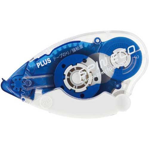 商品合計金額3000円 税込 以上送料無料 プラス ブルー テープのり 2020新作 スピンエコ22m 贈与