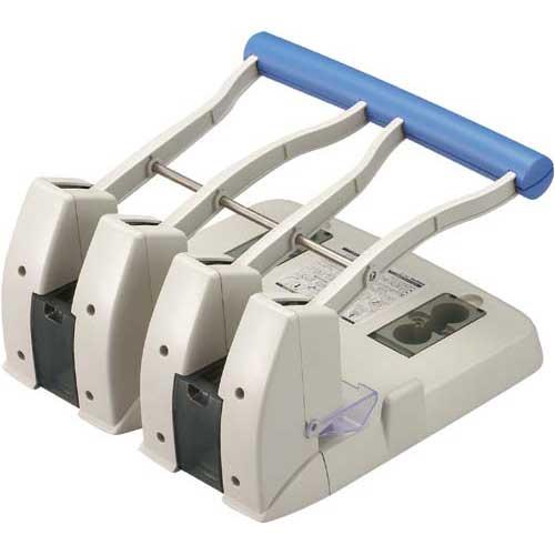コクヨ 強力4穴パンチ本体穴径6mmピッチ80mm【取寄商品】