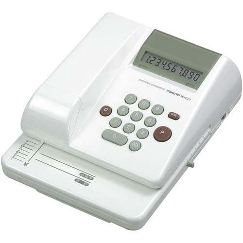 コクヨ 電子チェックライター10桁 リピート印字抹消機能【取寄商品】